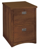 Martin Furniture MP201 Mission Pasadena 2-Drawer file