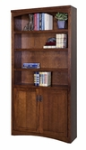 Martin Furniture MP3672D Mission Pasadena Lower door bookcase