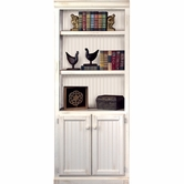 Martin Furniture SH3072D Southampton Bookcase with lower doors