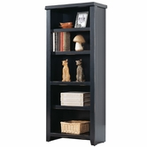 Martin Furniture TL600 Tribeca Loft Black Small Bookcase