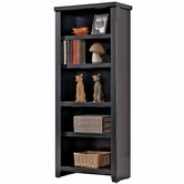 Martin Furniture TL600 Tribeca Loft Black Small bookcase/pier