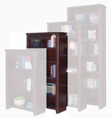 "Martin Furniture TLC3260 Tribeca Loft Cherry 60"" Bookcase with 3 adj. shelves & 1 fixed shelf"