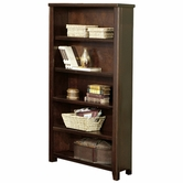 Martin Furniture TLC3670 Tribeca Loft Cherry Open bookcase