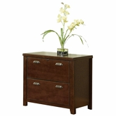 Martin Furniture TLC450 Tribeca Loft Cherry 2-Drawer lateral file