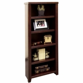 Martin Furniture TLC600 Tribeca Loft Cherry Small Bookcase/Pier