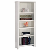 Martin Furniture TW600 Tribeca Loft White Small Bookcase