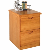 Martin Furniture WF201 Waterfall 2-Drawer