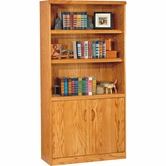 Martin Furniture WF3670D Waterfall Lower Door Bookcase