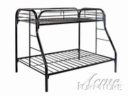 Metal Twin Over Full Bunk Bed - Acme 2053A