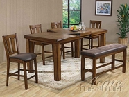 Morrison Counter Height Table Set - Acme 00845-46