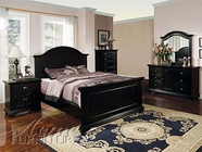 Newville Bedroom Set in Black Finish - Acme 04740Q-44-45