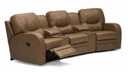 Palliser 40029-2xA0-30-46-47 Perth Sectional Theater Seating set