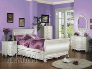 Pearl White Bedroom Set - Acme 01005F-13-14-15