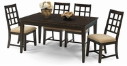 Progressive P107D-10-61 Casual Traditions Dining Room Set W/ Rectangular Table