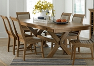 Progressive P808-10 Willow Dining Set W/Upholstered Chair