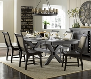 Progressive Furniture P812-10 Willow Dining Sets w/Upholstered Chair