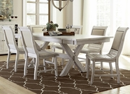 Progressive P820-10 Willow Dining Set W/Upholstered Chair