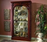 Pulaski 20705 Two Way Sliding Door Curio