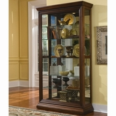Pulaski 21015 Two Way Sliding Door Curio