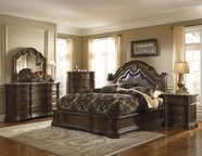Pulaski 504170-71-72-00-10 Courtland Dresser / Mirror / Queen Bed