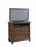 Pulaski 508145 Saddle Ridge Media Chest