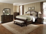 Pulaski 508150-51-52-00-10 Saddle Ridge Dresser / Mirror / Queen Bed
