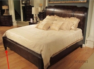Pulaski 508170-71-52 Saddle Ridge Platform Queen Bed