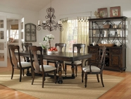 Pulaski 508240-41-60X4 Saddle Ridge Dining Table / 4 Side Chairs