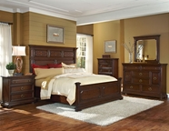 Pulaski 509150-51-52-00-10 Sedona Valley Dresser / Mirror / Queen Bed