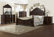 Pulaski 518150-51-52-00-10 Cassara Dresser / Mirror / Queen Bed