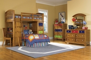 Pulaski 633184-85-86-87-88-00-10 Bearrific Complete Loft Bed collection
