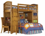 Pulaski 633184-85-86-87-88 Bearrific Complete Loft Bed