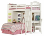 Pulaski 634184-85-86-87-88 Pawsitively Yours Complete Loft Bed