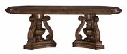 Pulaski 662242-43 San Mateo Double Pedestal Table