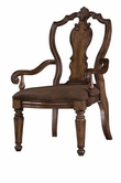 Pulaski 662271 San Mateo Carved Back Arm Chair