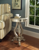 Pulaski 739339 Mirrored Pedastal Table