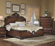 Pulaski 962180-81-82 Wellington Manor Platform Eastern KIng Bed