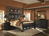 Pulaski 993170-71-72-00-10 Brookfield Dresser / Mirror / Queen Bed