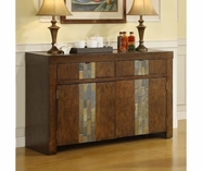 Riverside 1756 Belize-Server-Old World Distressed Pine