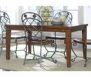 Riverside 28033 Harmony-Rectangular Dining Table-Harmony Antique Oak