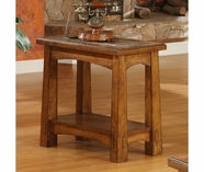 Riverside 2911 Craftsman Home-Chairside Table-Americana Oak