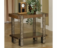 Riverside 3410 Sierra-Chairside Table-Landmark Worn Oak