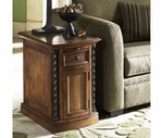 Riverside 45013 Medley-Door Chairside Chest-Camden