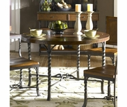 Riverside 45219 Medley-Round Dining Table-Penney Patina