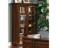 Riverside 4934 Cantata-76 Inch Bookcase-Burnished Cherry