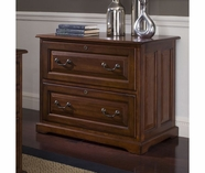 Riverside 4939 Cantata-Two Drawer Lateral File-Burnished Cherry