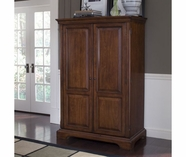 Riverside 4985 Cantata-Computer Armoire-Burnished Cherry