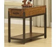 Riverside 5910 West End-Chairside Table-Heirloom Russet