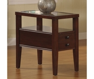 Riverside 61010 Avenue-Chairside Table-Dark Cherry