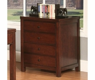 Riverside 61033 Avenue-2 Drawer File Cabinet-Dark Cherry